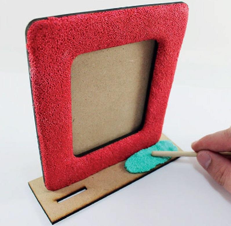 Foam Clay Photo Frame Kit - Panda -